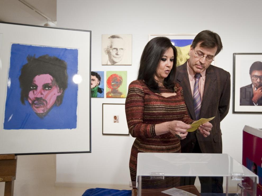 Sorteo de la obra 'Tres visiones de Warhol'