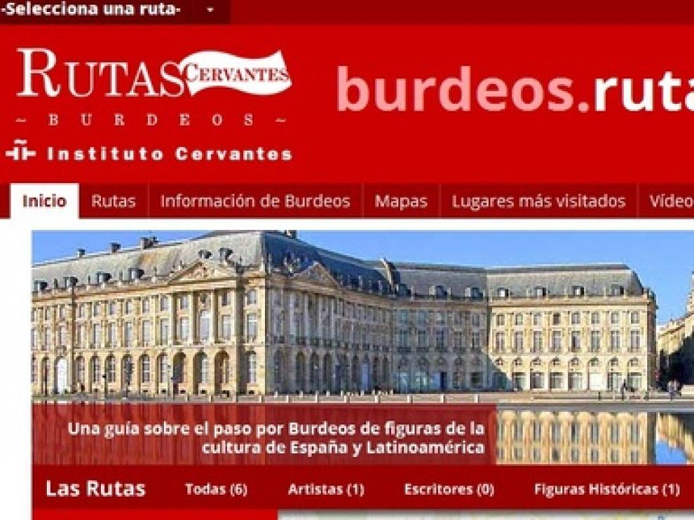 Portal multimedia sobre Goya