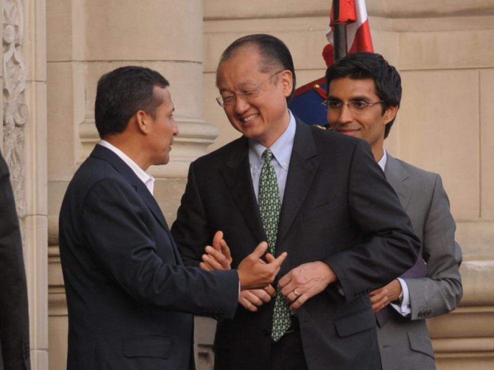 Jim Yong Kim en su reunión con Ollant