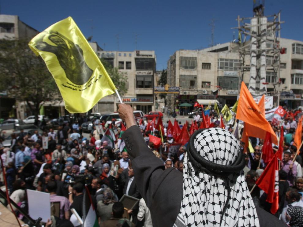 Protesta en el Día del Prisionero.
