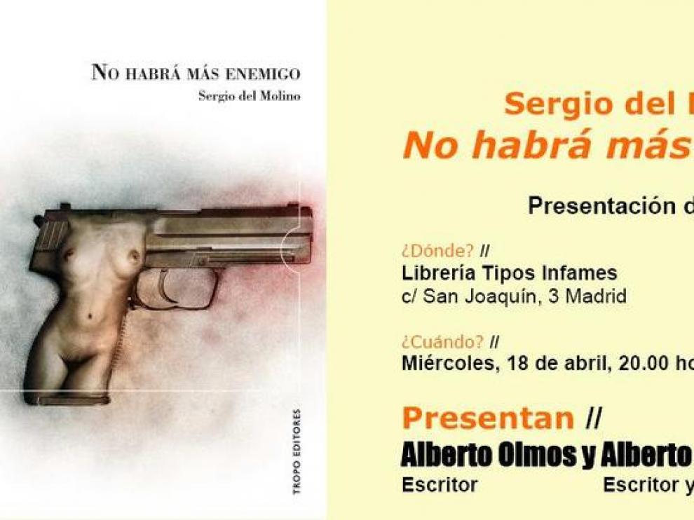 El periodista Sergio del Molino presenta 'No habrá más enemigo'