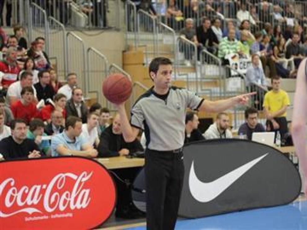 Carlos Peruga en el campeonato de Mannheim