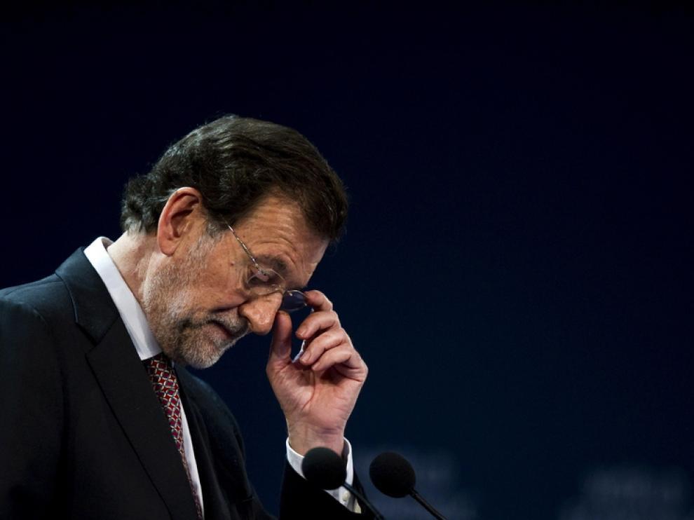 El presidente español, Mariano Rajoy