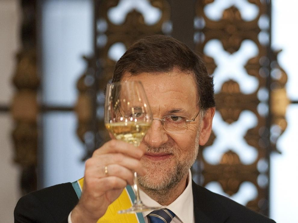 El presidente español durante su visita a México