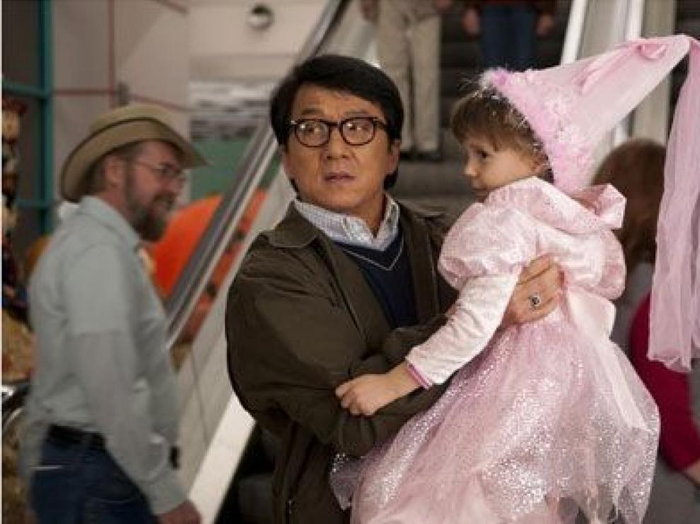 Jackie Chan se convierte en 'El supercanguro'