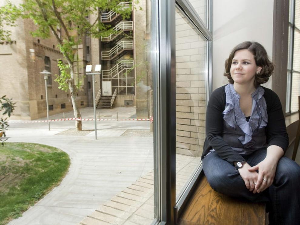 La lingüista Inés Olza, del Grupo de Análisis del Discurso de la Universidad de Navarra.