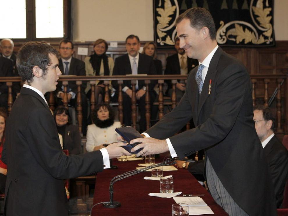 El nieto de Parra en la Universidad de Alcalá de Henares
