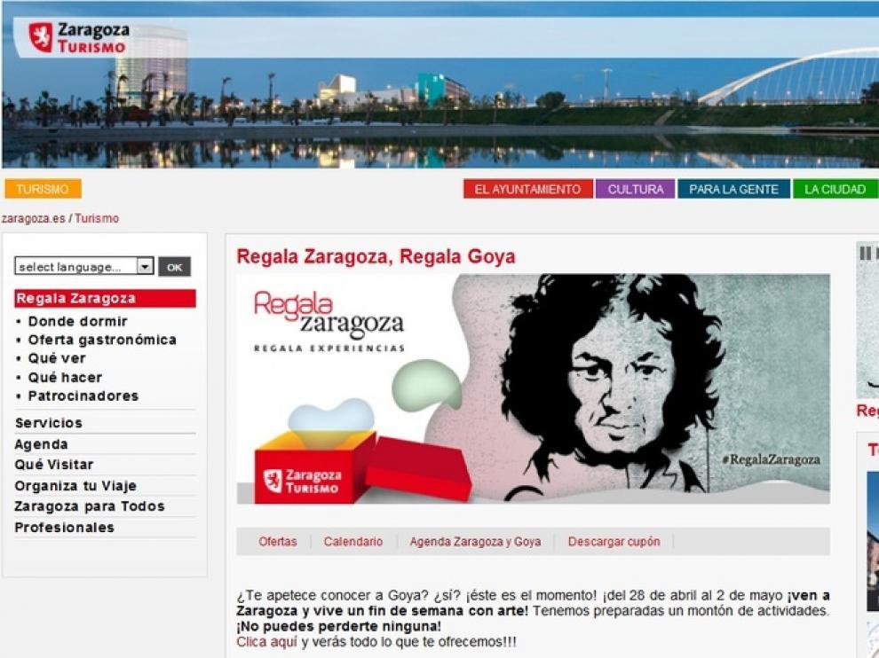 El próximo fin de semana temático versará sobre Goya