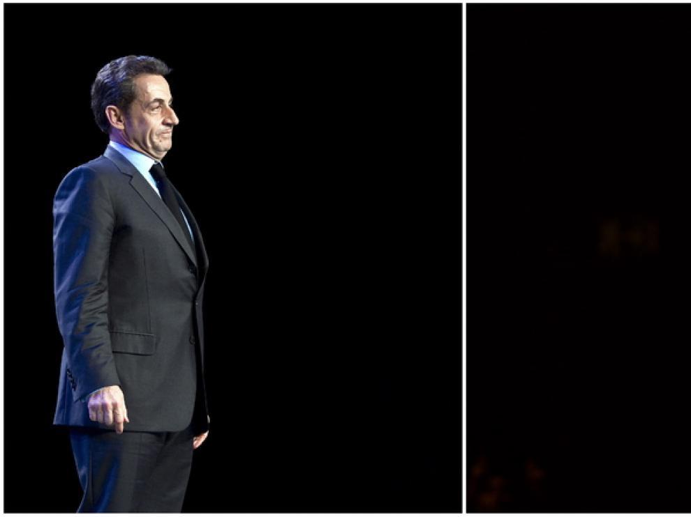 Hollande sacaría ocho puntos de ventaja a Sarkozy en la segunda ronda