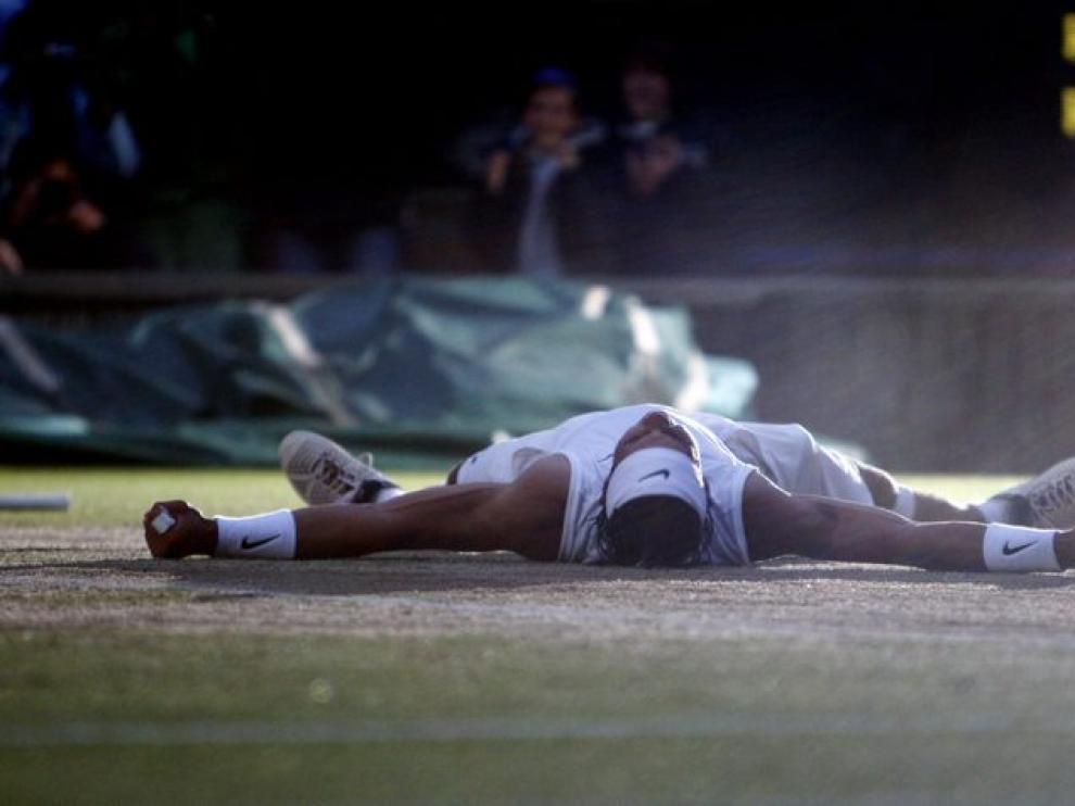 Nadal, sobre la hierba de Wimbledon