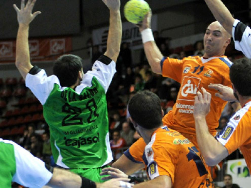 Imagen del Caja 3 Aragón en un encuentro deportivo.