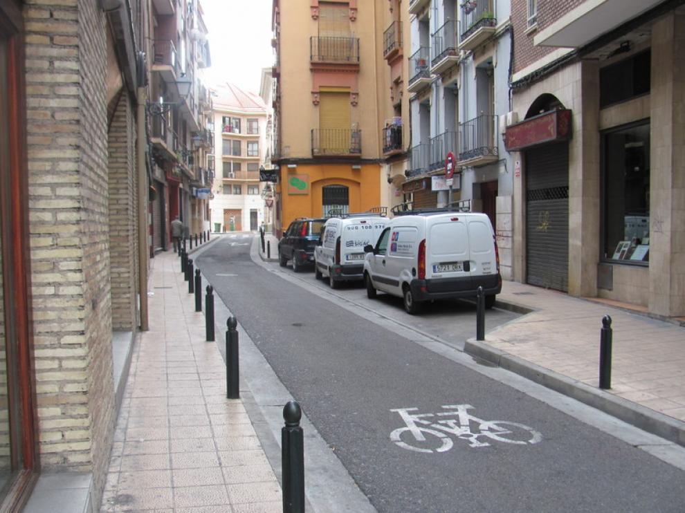 Imagen de la calle de La Cadena