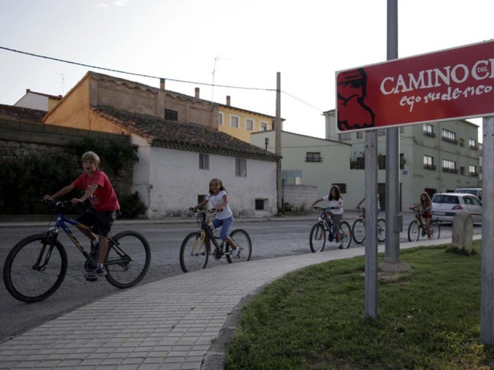Camino del Cid, en Cella, Teruel