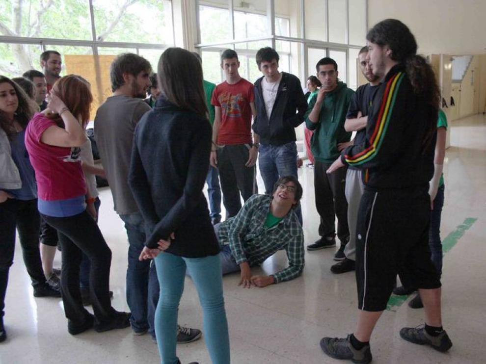 Encierro de estudiantes en Interfacultades