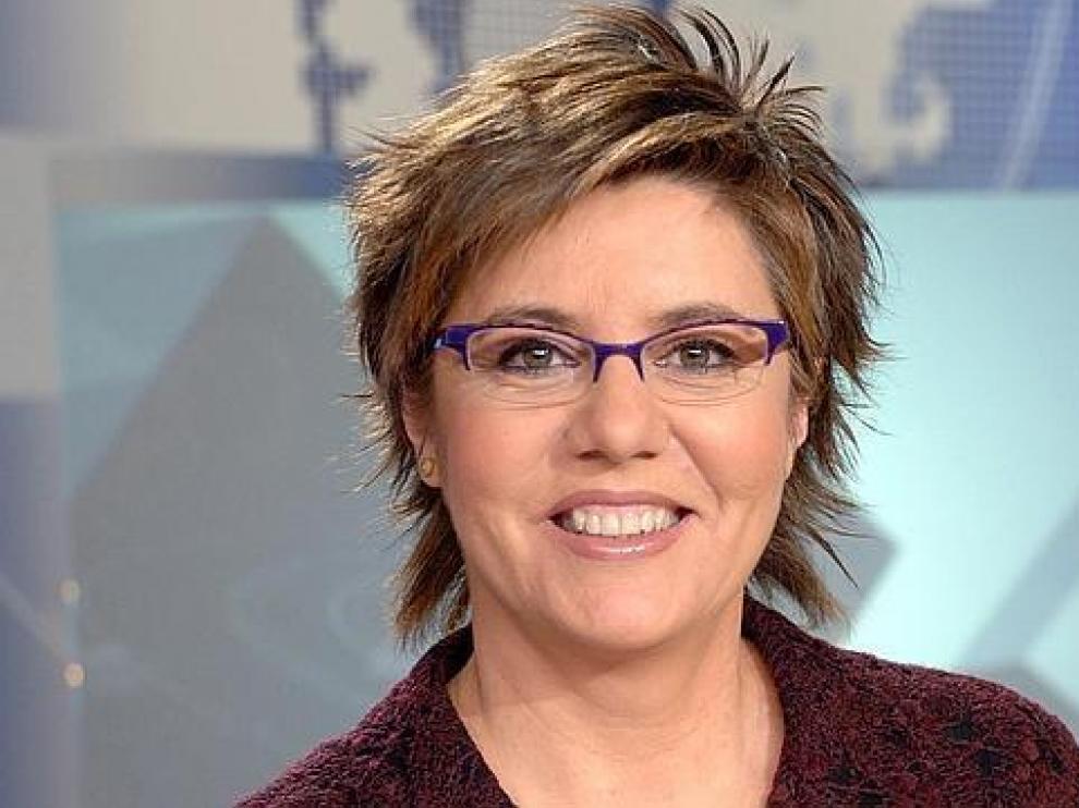 La presentadora de deportes en TVE, María Escario