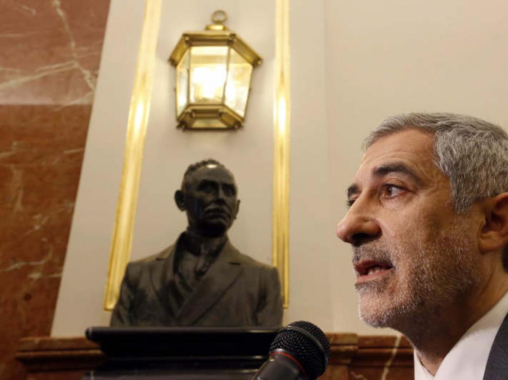Gaspar Llamazares en una imagen de archivo.