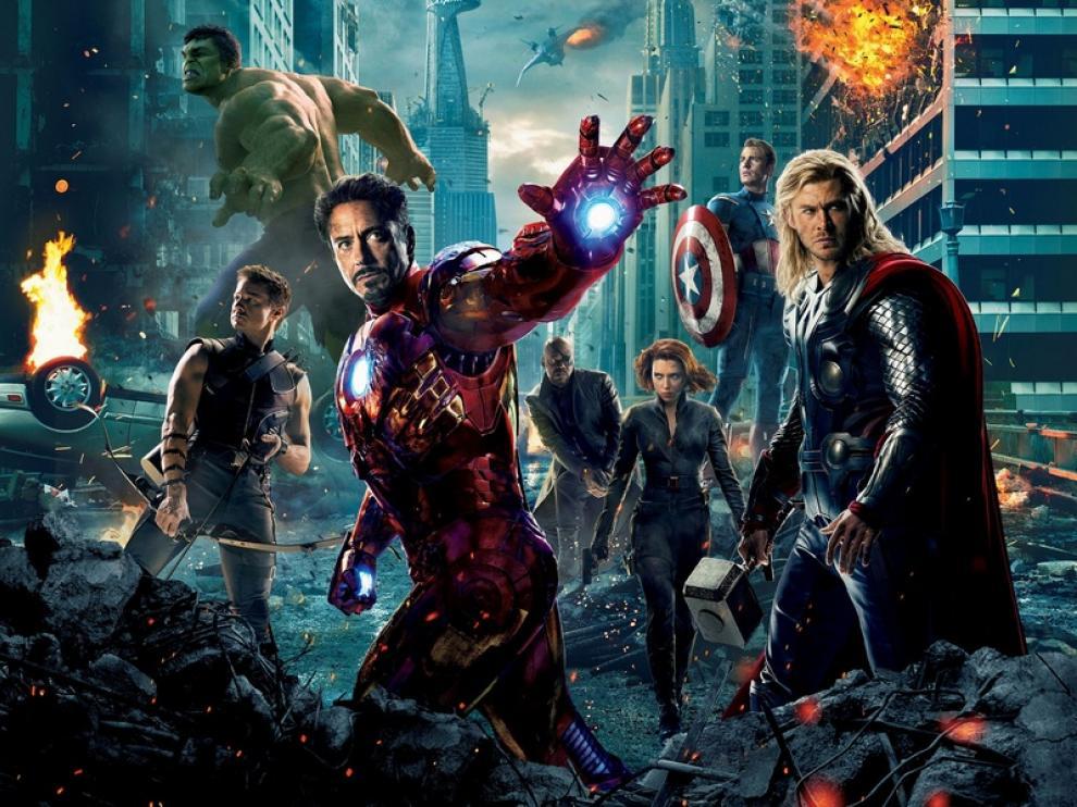 Estreno de la película  'Los Vengadores'  en los cines de  Zaragoza