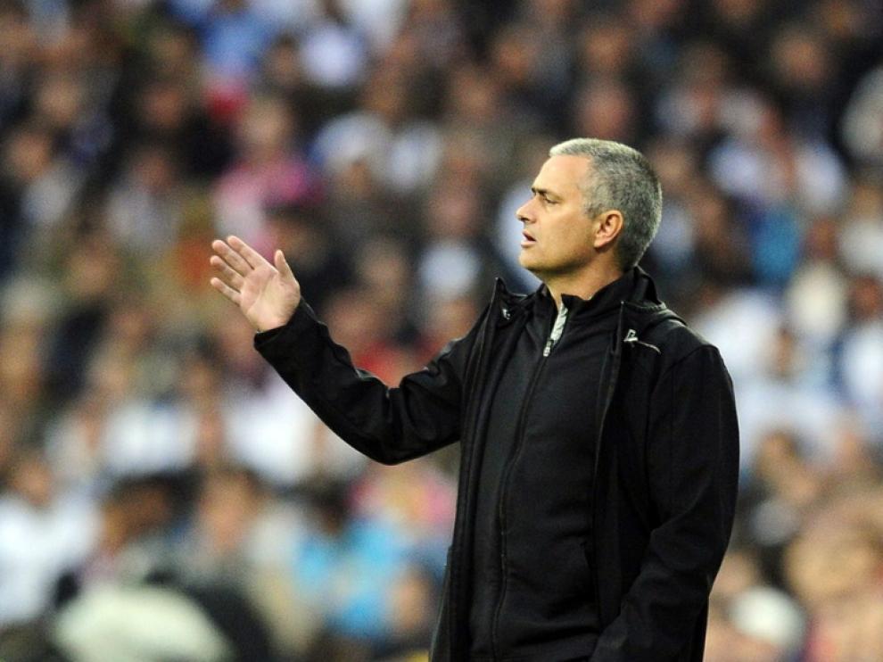 Jose Mourinho en una imagen de archivo.