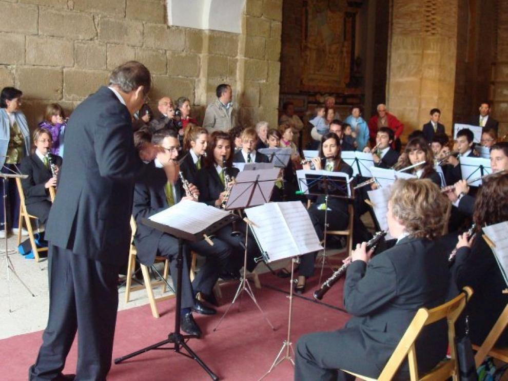 Imagen de la Banda de Música de Huesca.