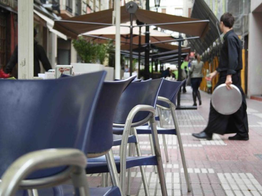 Terraza en la plaza Nuestra Sra. del Carmen