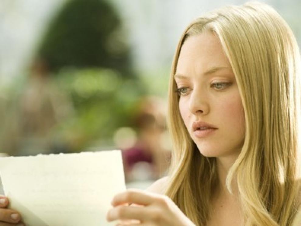 Amanda Seyfried protagoniza la película 'Cartas a Julieta'.
