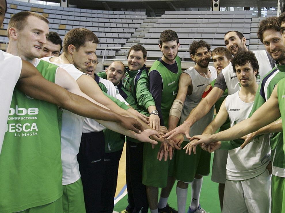 El Lobe Huesca seguirá en LEB Oro