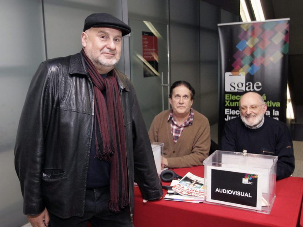 El candidato a presidir la Sociedad General de Autores y Editores (SGAE) Antón Reixa