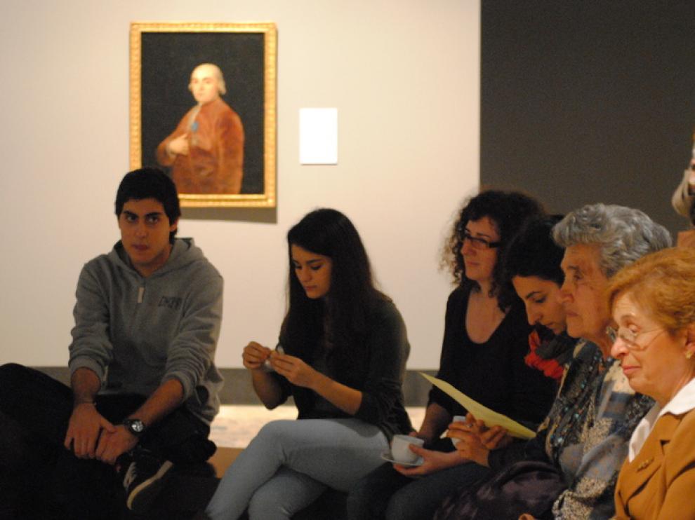 Un té con Goya, en el Museo de Zaragoza