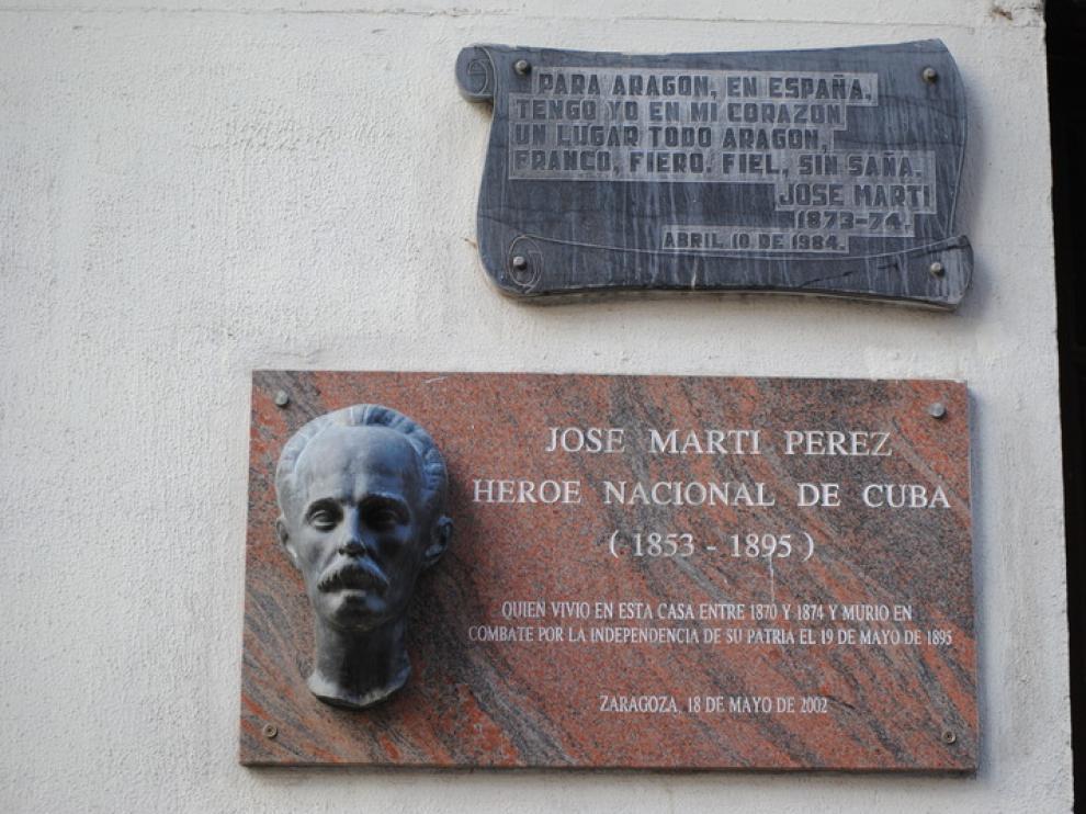 José Martí, vecino de la calle Manifestación
