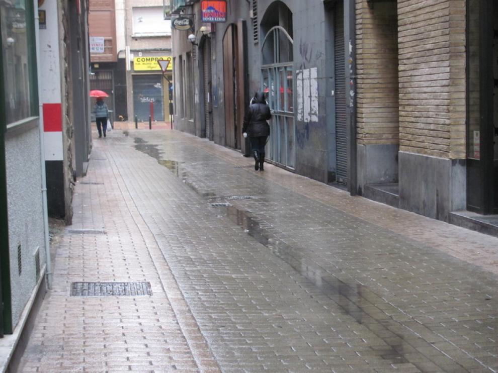 Calle de Hermanos Argensola en Zaragoza