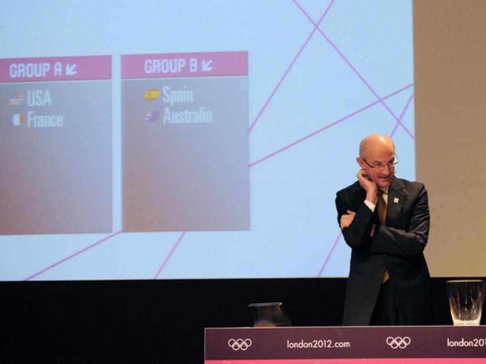 Sorteo realizado en Río de Janeiro por la Federación Internacional de Baloncesto
