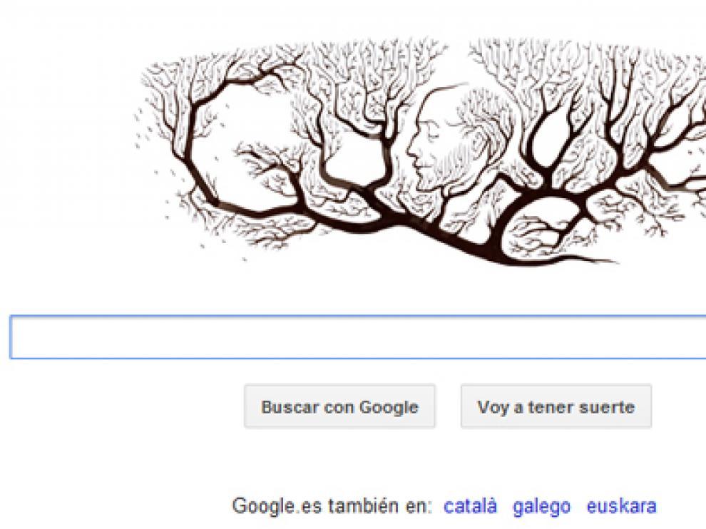 Imagen con la que Google conmemora el aniversario