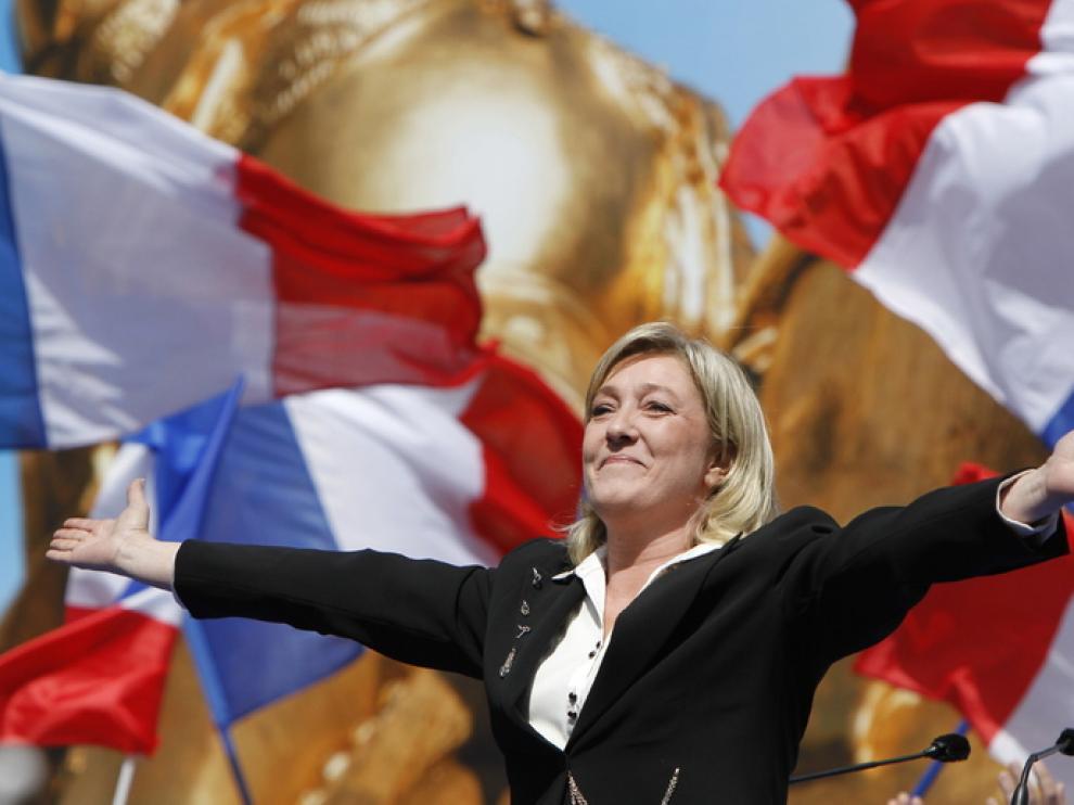 Mitin de Le Pen, este 1 de mayo en París