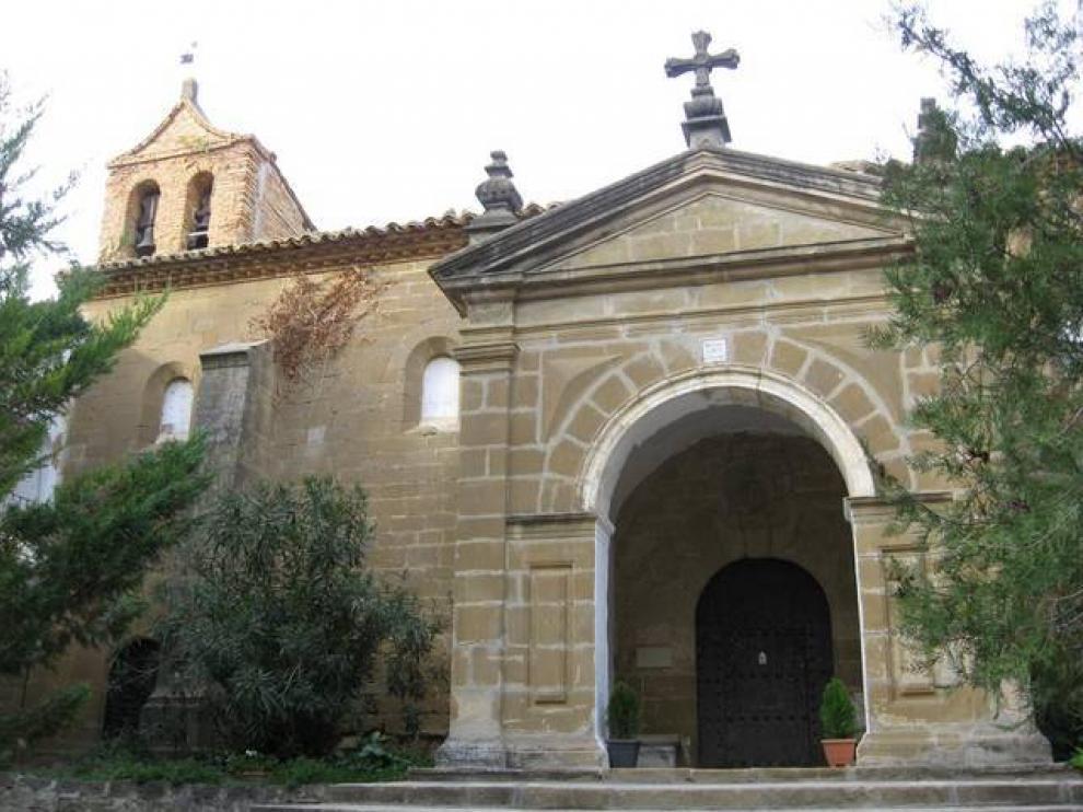 La iglesia de Nuestra Señora de Casbas.