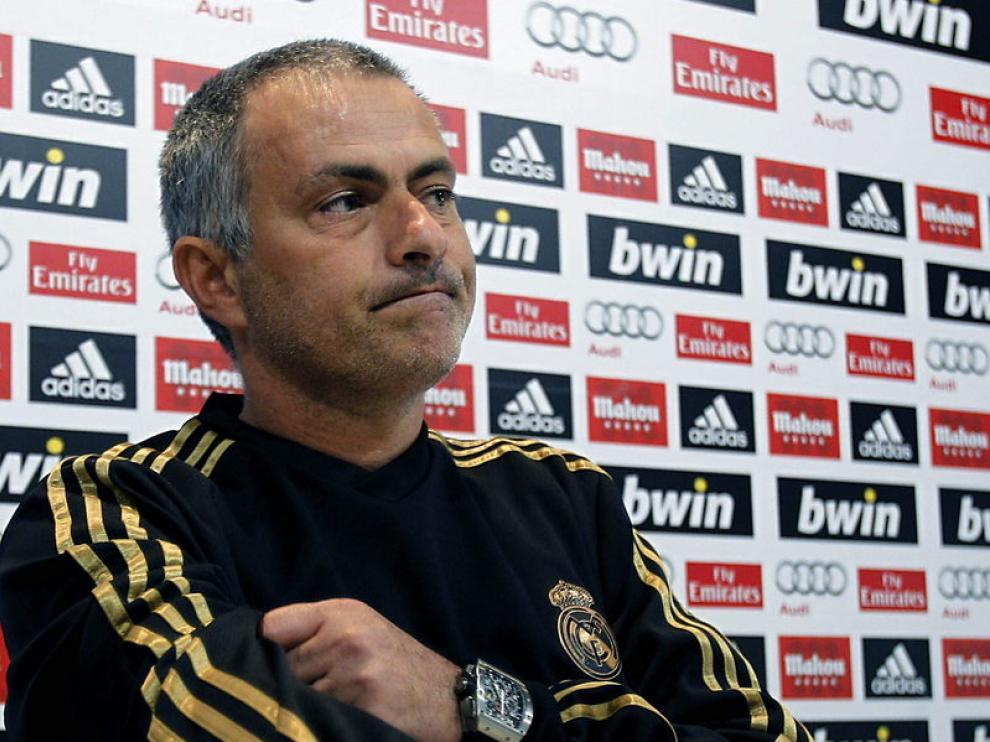 El portugués Jose Mourinho