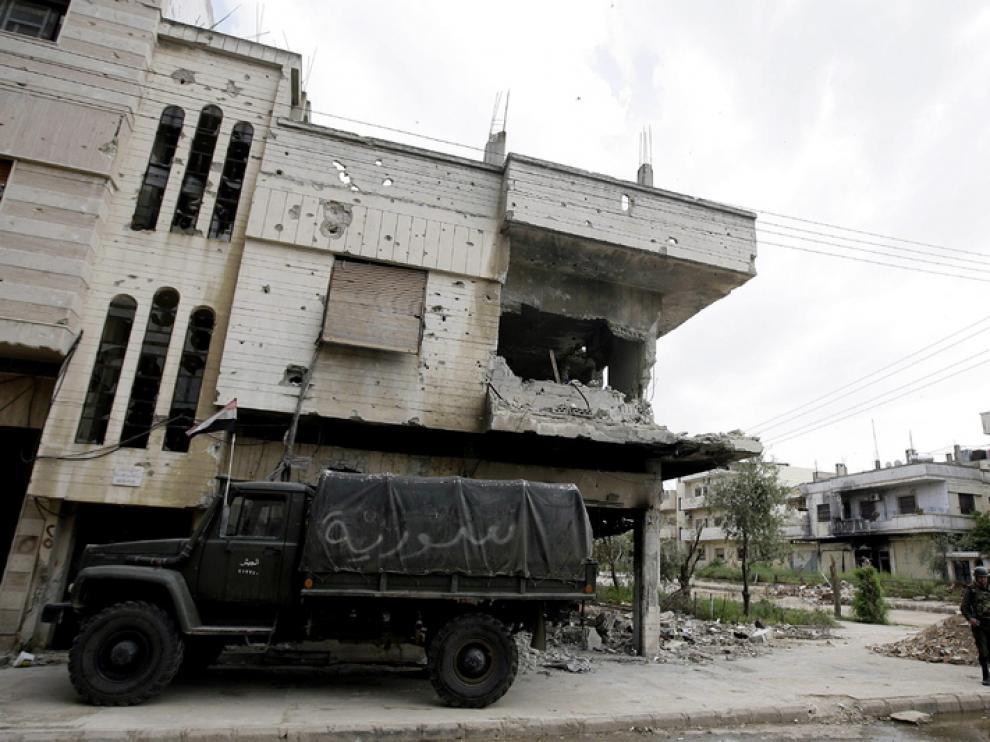 Los obsevadores denuncian que siguen existiendo armas en los barrios civiles
