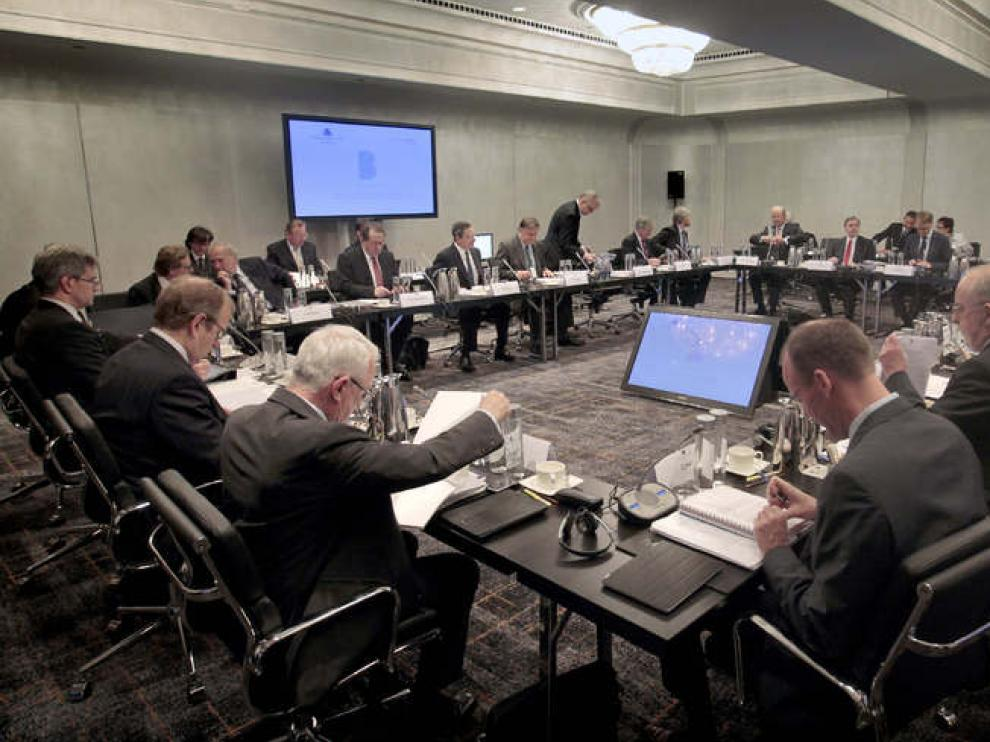 El BCE comienza su reunión en Barcelona