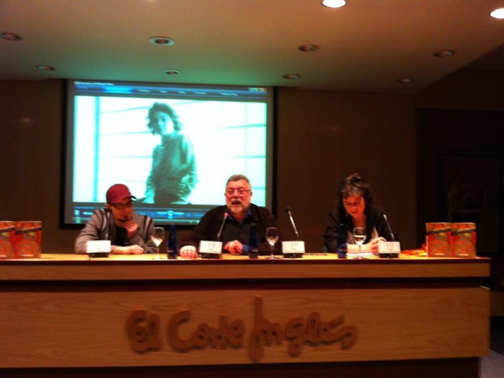 Julio José Ordovás, Juan Domínguez Lasierra y Marta Agudo