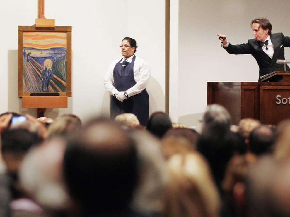 La subasta de Munch este miércoles