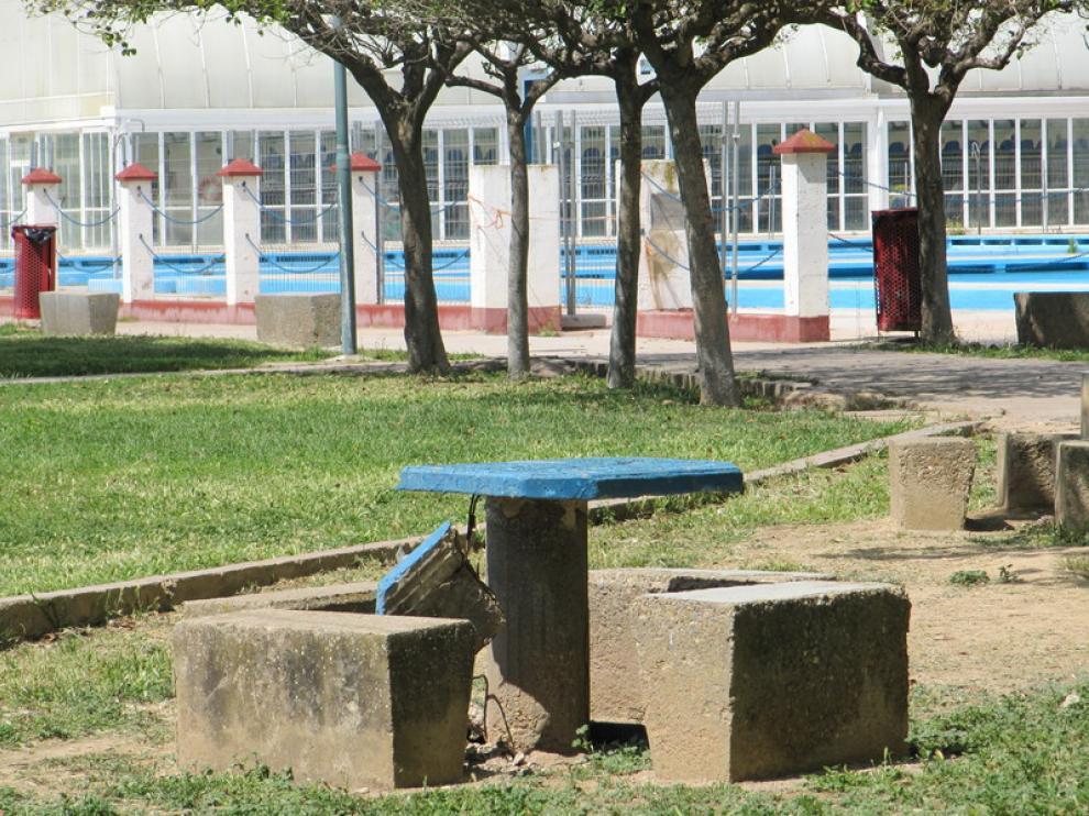Instalaciones del Parque Deportivo Ebro