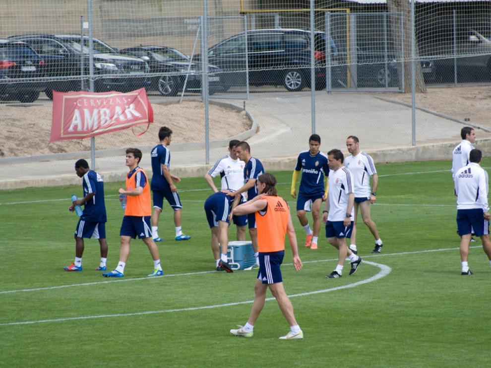 Entrenamiento Real Zaragoza