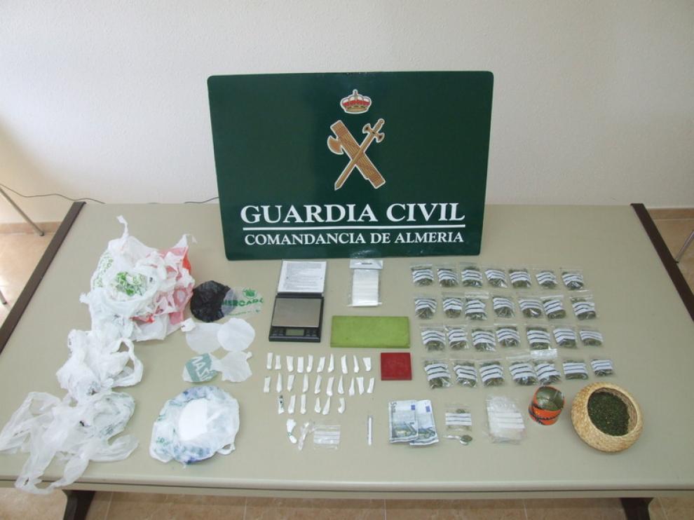 Operación antidroga en Almería