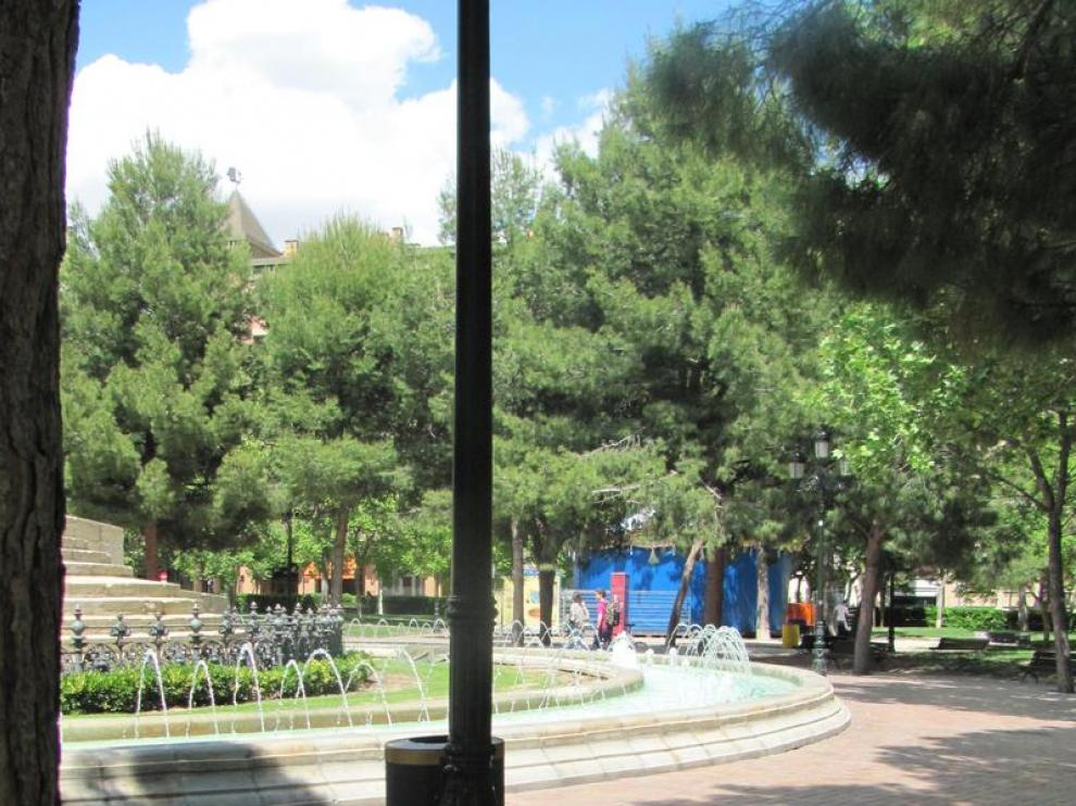 Imagen de la plaza