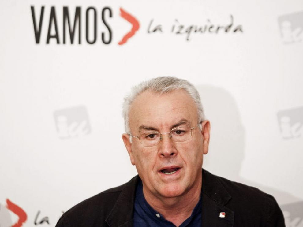 Cayo Lara, en Huesca