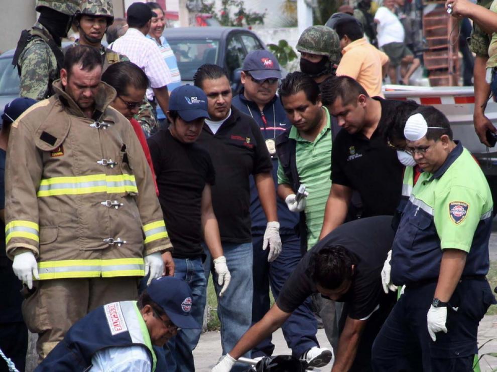 Las fuerzas de seguridad mexicanas hallan los cuerpos mutilados de dos desaparecidos en Veracruz.