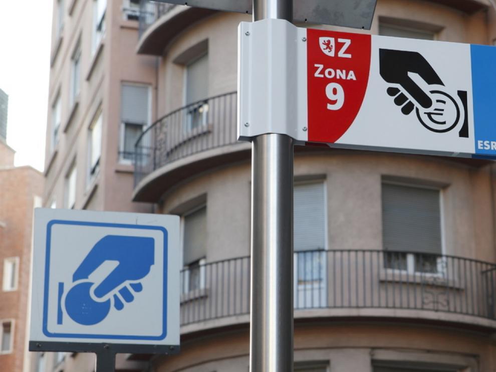 Estacionamiento regulado en Zaragoza