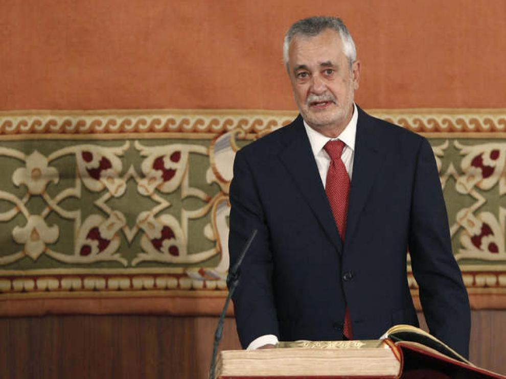 José Antonio Griñán toma posesión como presidente de la Junta
