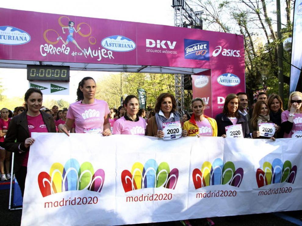 La prueba tiene como objetivo apoyar la lucha contra el cáncer de mama.
