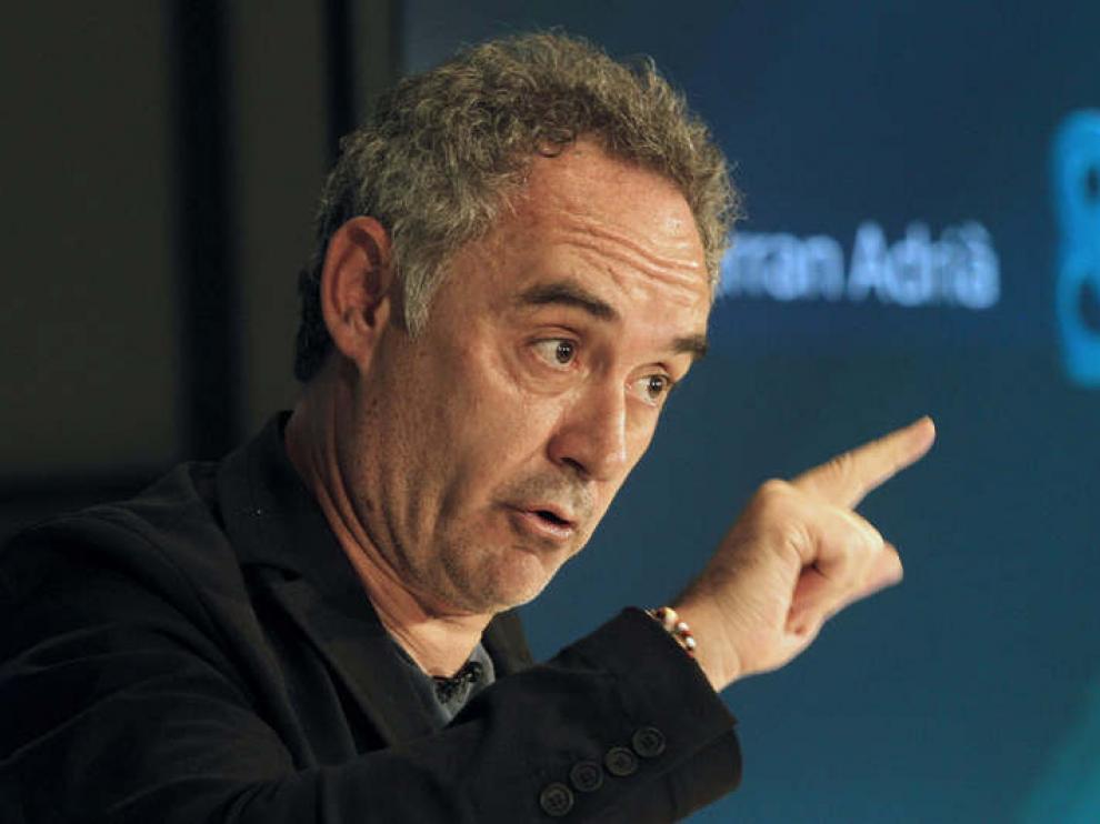 El cocinero Ferran Adrià