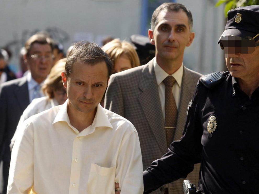 José Bretón, custodiado por la Policía